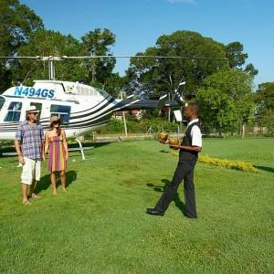 Helicopter Flights Montego Bay Airport To Sandals South Coast