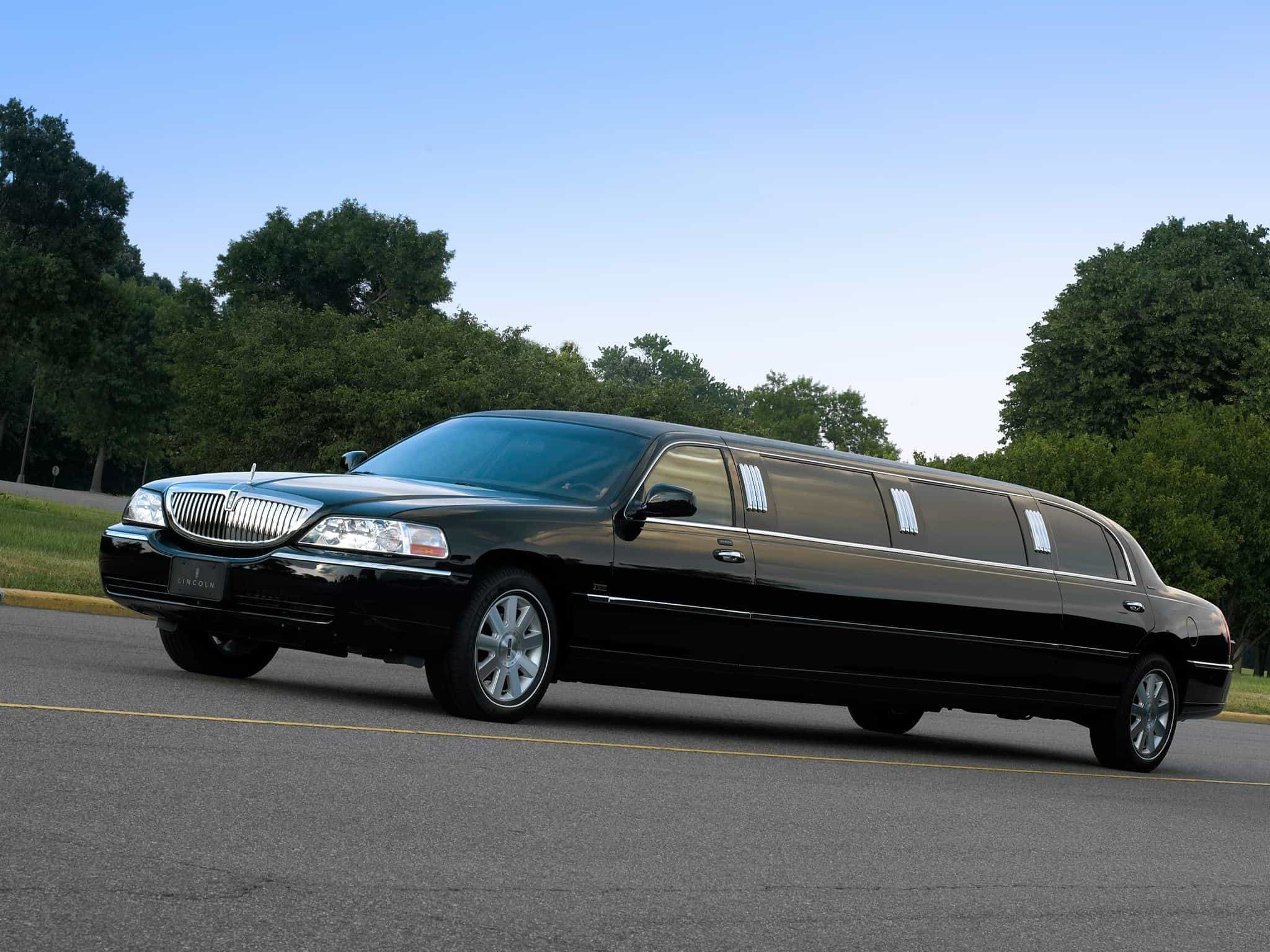 Lincoln Town Car Limo For Sale