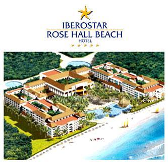 Iberostar Rose Hall Beach Resort Map