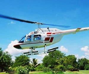 Helicopter Flight From Montego Bay Airport To Ocho Rios
