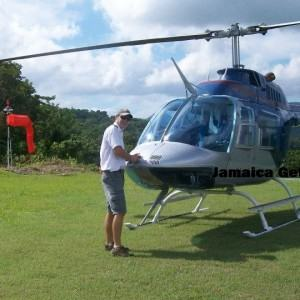 Helicopter Transfer To Sandals South Coast