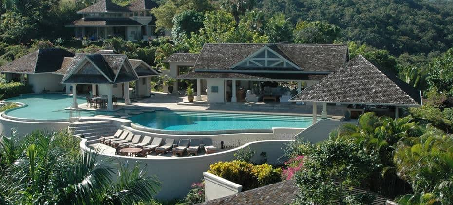 Montego Bay Airport Transfers To Silent Waters Villa on Silent Waters Montego Bay Jamaica Villa