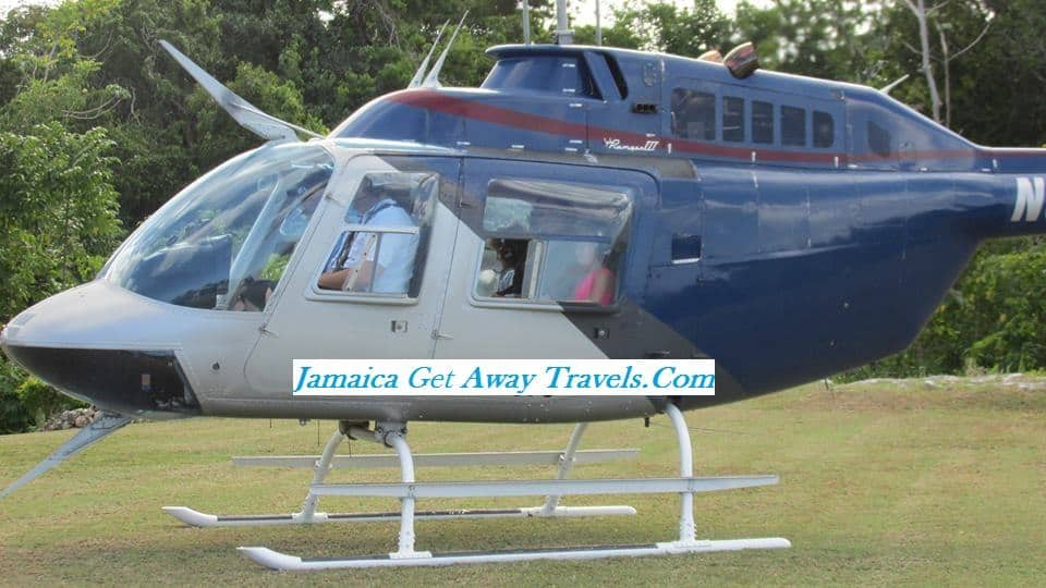 Helicopter Ride From Ocho Rios To Kingston Airport