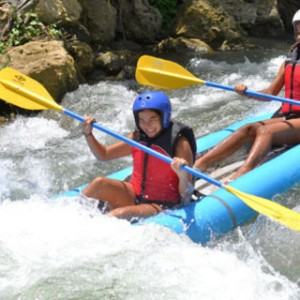 White Water River Kayaking and Beach Adventure