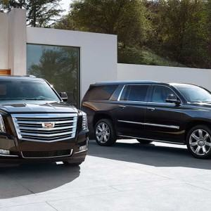 The Cadillac Escalade SUV is the perfect choice for a night on the town, wedding, concert, airport transportation or any special event