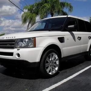 Luxury Range Rover Sport HSE Hourly Service