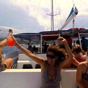 Catamara Cruise Rum Punch Party