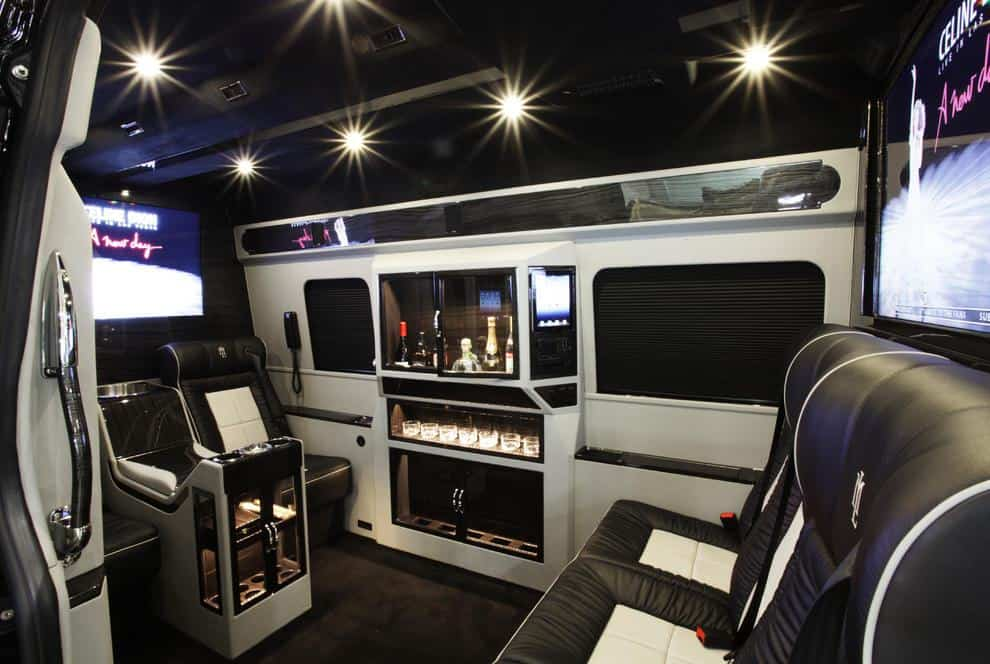 Mercedes benz sprinter luxury van to hire for Mercedes benz sprinter luxury van for sale