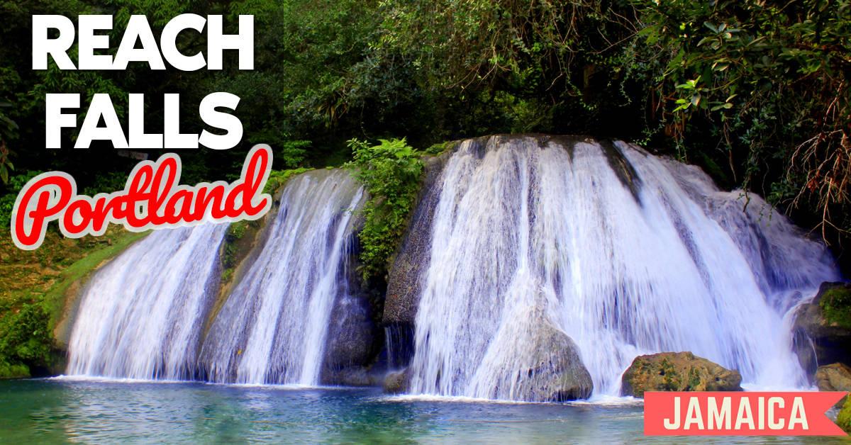 Reach Falls Port Land Jamaica Jamaica Get Away Travels