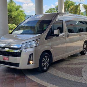 2020 Hiace Luxury Van Seats 14 people