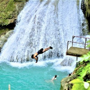 When you think of the Caribbean your mind often wanders to white-sand beaches and gorgeous shores of light blue water. Jamaica offers plenty of these breathtaking sights to be sure. But what about waters that are a little more…special.