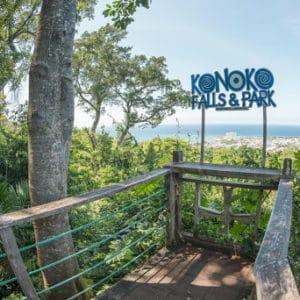 Explore lush botanical gardens before climbing the beautiful Konoko Falls, nestled in the hills of St. Ann.