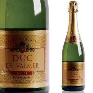 Be sure to order a bottle of Duc De Valmer Brut 750ml  in advance and we are sure to have it ready for you on your journey.